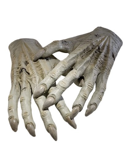 [Harry Potter Dementor Hands] (Harry Potter Dementor Fancy Dress Costume)