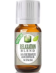 Relaxation Blend 100% Pure, Best Therapeutic Grade Essential...