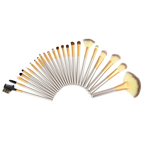 makeup brush set 32 piece white buyer's guide