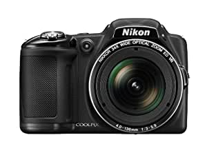 Nikon COOLPIX L830 16 MP CMOS Digital Camera with 34x Zoom NIKKOR Lens and Full 1080p HD Video (Black) (Discontinued by Manufacturer)