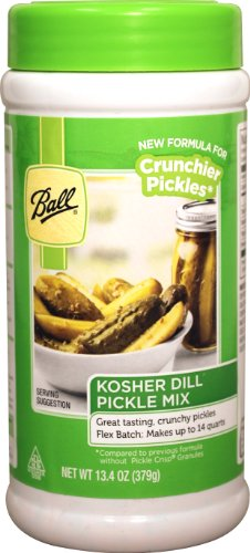 Ball Kosher Dill Flex Batch Pickle Mix, 13.4-Ounce ()