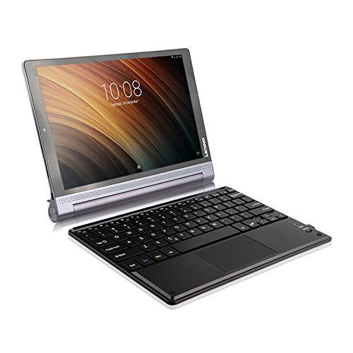 TabletHutBox® - Teclado inalámbrico Bluetooth con Teclado ...