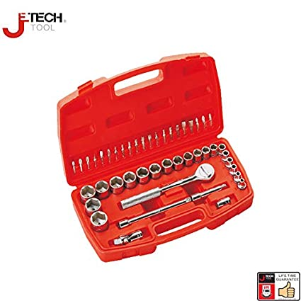 Best Tool Set Jetech 61pcs 3/8-inch Drive Metric Socket Wrench ...