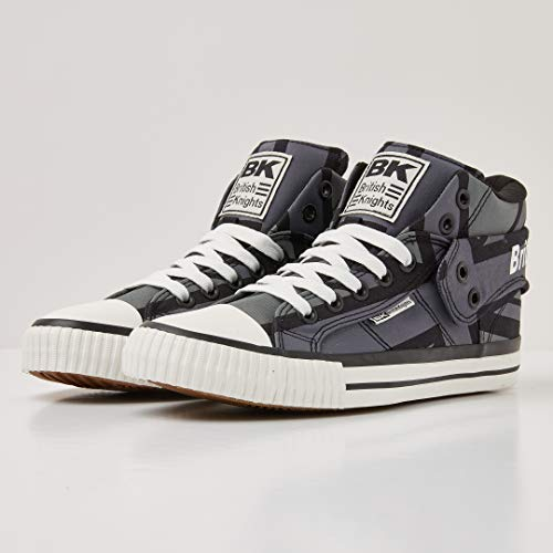 03 Roco Sneaker Marine Blau Herren Jack Gris Britanniques Noir union Hohe Chevaliers Rt5wPxqU
