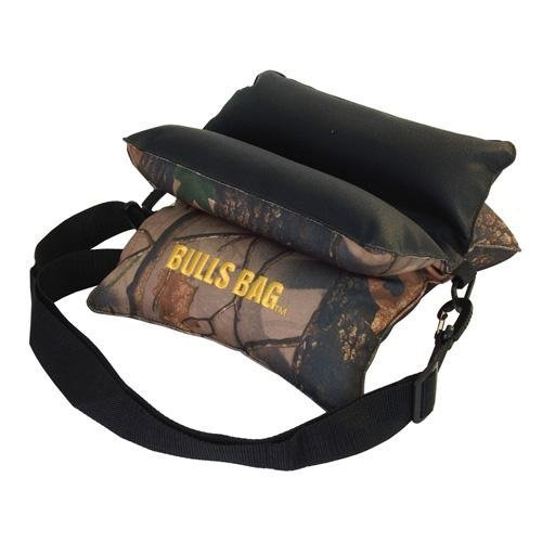 BULLS BAG #16014-Field Tree Camo/Tuff-Tec 10 Shooting Rest (Unfilled) by Bulls Bag