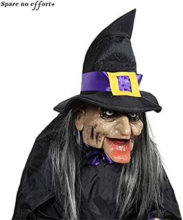 Accesorios creativos de Halloween Electric Housekeeper Witch Toys ...