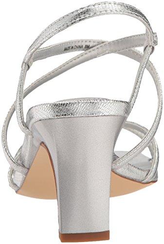 Sandalen Sandalen Frauen mit Silber Silber mit mit Absatz Sandalen Frauen Frauen Absatz fwaqfFd