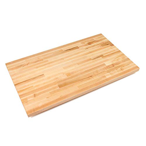 John Boos Blended Maple 25 Wide Kitchen Counter Top, 1-1/2 Thick, 30 x 25, Oil Finish ()