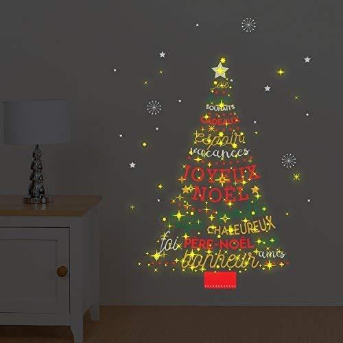 Walplus Com Ws4027 Francés Frase árbol De Navidad Ws3036