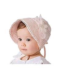 Baby Girls Sun Hat Summer Fashion Hollow Sun Protection Caps