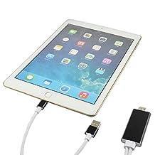 ATJC 200cm HDMI Video AV adapter HDTV output cable for iPad Pro / iPad Air / Air 2 / iPad mini 2 3 4
