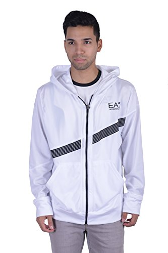 "Emporio Armani EA7 ""Air Duct Technology"" Men's White Hooded"