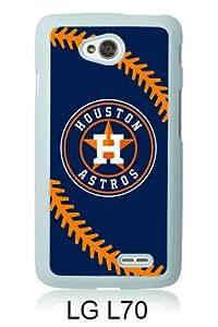 Houston Astros White LG L70 Screen Cover Case Unique and Fashion Design