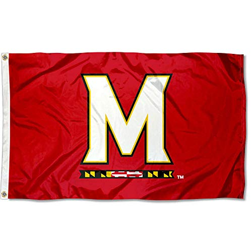 College Flags and Banners Co. NCAA Maryland Terps 3x5 Flag