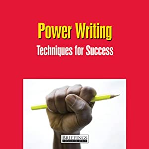 Power Writing Audiobook