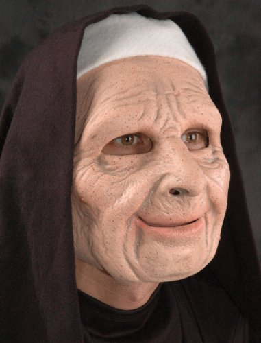 The Town Scary Nun Mask - ST -