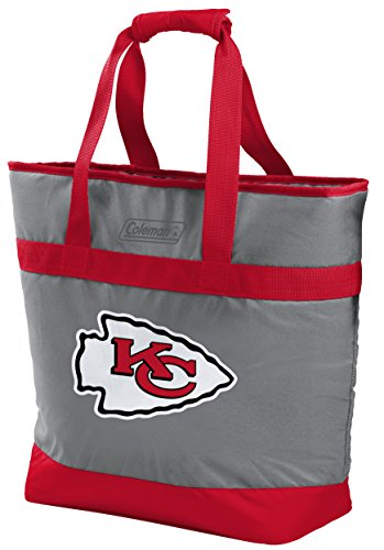 NFL 30 Can Soft Sided Tote Cooler, Kansas City Chiefs