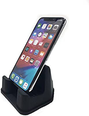 PhoneProp Color Stone Universal Fit Soft Flexible Smartphone Stand Durable FDA High Grade Silicone