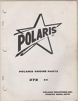 1969 Polaris Snowmobile Engines Parts 372Cc Manual: Polaris: Amazon