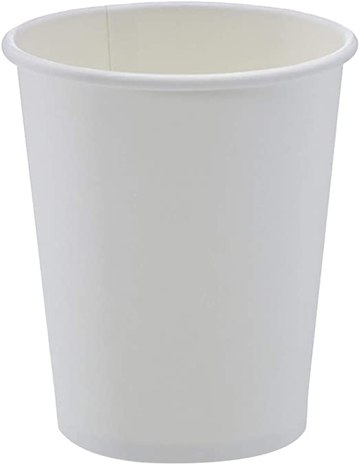Amazon.com: AmazonBasics Compostable 8 oz. Hot Paper Cup, Pack of ...