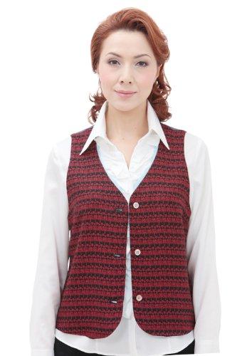 起点シットコムリングバック着物 ベスト 京 アロハ 小紋 ヤシの木柄 K104 sakura de kyoto 京さくら