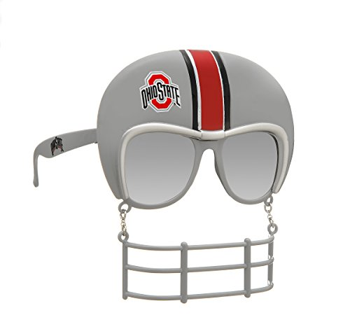 Rico Industries NCAA Ohio State Buckeyes Novelty Tailgating Sunglasses