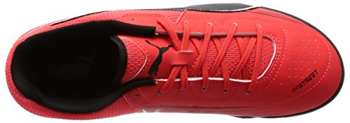 Puma Evostreet 3 F6, Botas de Fútbol Unisex Adulto Rojo (Blk/Wht/Red)