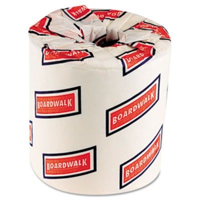 BOARDWALK Two-ply white toilet tissue. Includes 96 rolls of bathroom tissue. Manufacturer Part Number: BWK 6155