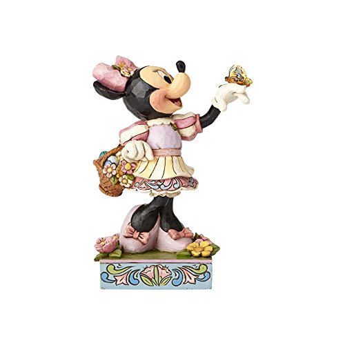 Jim Shore Disney Traditions by Enesco 4059743 Easter Minnie Mouse Figurine Jim Shore Angel Spring