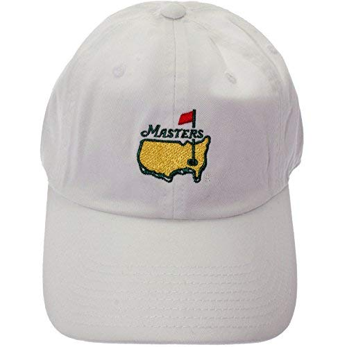 Masters 2018 Caddy Slouch Hat - White Official Augusta National