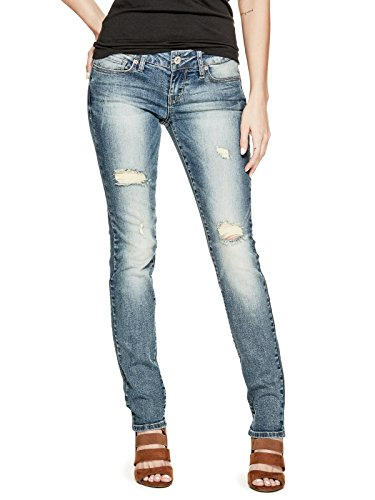 GUESS Factory Women's Sarah Skinny Jeans In Medium Vintage Wash