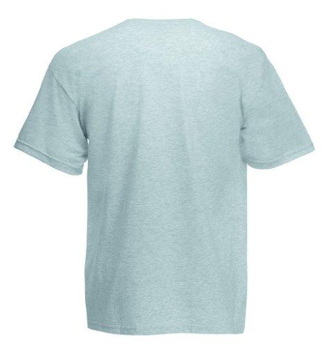 T-Shirt 'Heavy Cotton T' XXL,Heather Grey