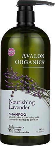 Avalon Organics Shampoo, Nourishing Lavender, 32 Fluid (Avalon Organics Lavender Shampoo)