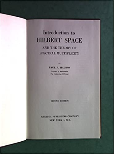 Amazon introduction to hilbert space and the theory of introduction to hilbert space and the theory of spectral multiplicity ams chelsea publishing 2nd edition fandeluxe Gallery