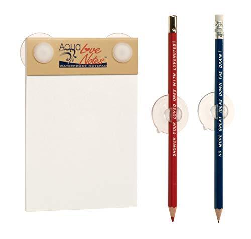 Aqua Love Notes Waterproof Notepad