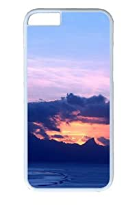 Beautiful Tahitian Beach Scenery PC case Cover for iPhone 6 and iPhone 6 4.7 inch White