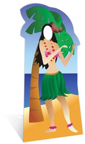 SC44 Hula Girl Cardboard Cutout Standup -