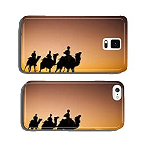 Indigenous Indian Men Riding Desert Camel Concept cell phone cover case Samsung S5
