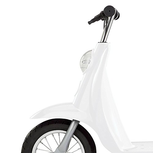 (Razor Pocket Mod Miniature Euro 24V 250W Electric Retro Kids Scooter & Helmet )