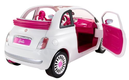voiture barbie fiat 500 pas cher. Black Bedroom Furniture Sets. Home Design Ideas