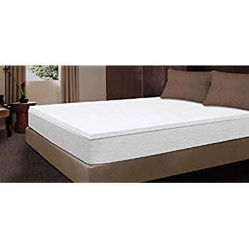 Amazon Com 1 1 2 Inch Memory Foam Mattress Topper King