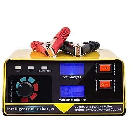 NHY Cargador de batería de automóviles Totalmente automático Motocicleta Baterías de automóviles Aprovechas de la Fuente de alimentación, Cargador de batería 240W 12V / 24V 20A 6-400AH