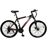 Foxtor Phoenix Series 26T 21 Speed Matt/Red Cycle