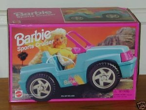 Barbie 1995 Sports Cruiser SUV Jeep Car