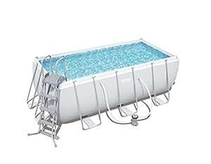 Bestway 8321295 piscina rectang c hidrobom 412x201x122cm for Juguetilandia piscinas desmontables