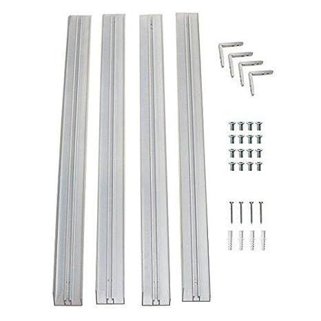 VBLED Aufputz-Rahmen für LED Panel 62 cm x 62 cm/Decken-Rahmen für Panels in 620mm x 620mm passend für alle Standard Modelle (62 cm x 62 cm Standard Panels) [Energieklasse A+]
