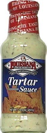 LOUISIANA SAUCE TARTAR HM STYL, 10.5 OZ by Louisiana Fish Fry Products