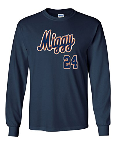 The Silo LONG SLEEVE NAVY Detroit Miguel Cabrera