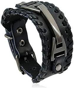 Personalized fashion accessories Men's bracelet Punk style Leather material bracelet bracelet