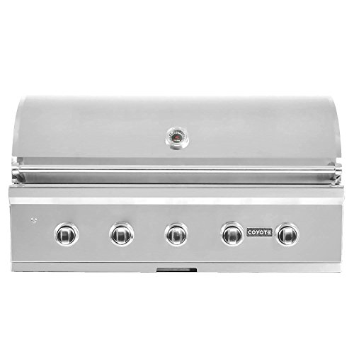 (Coyote C-series 42-inch 5-burner Built-in Propane Gas Grill - C2c42lp)